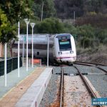 Serrania de Ronda residents walk famous railway route to demand the improvement of train services