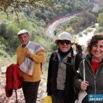 Vecinos de la Serranía recorren un Ruta Romántica entre Benaoján y Jimera de Líbar para reclamar la mejora de la línea del tren