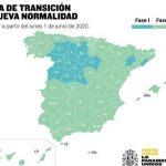 COVID-19: A partir del lunes, casi el 70% de la población española podrá retomar las actividades recogidas en la fase 2