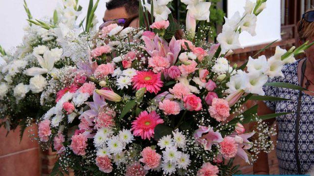 SERRATO:  Procesión en Honor a la Virgen del Rosario
