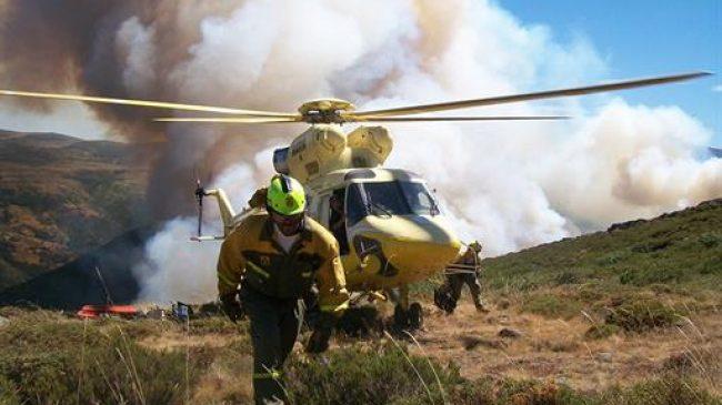 El balance de la campaña de incendios forestales arroja una reducción del 21% en la superficie forestal afectada