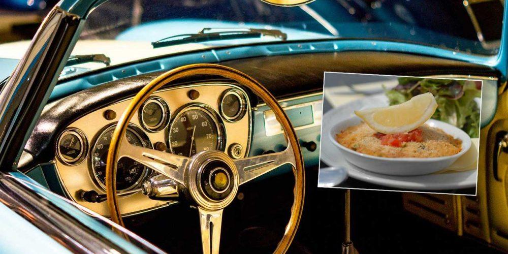 Serrania de Ronda fish pie hooks veteran car club from coast