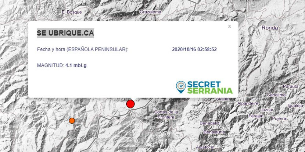 Magnitude 4.1 earthquake registered in south of Spain this morning