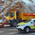 112 Andalucia emergency control room manages more than one hundred incidents related to snow and wind