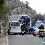 Un hombre resulta herido tras colisionar dos motos en la carretera MA-8401 Jimera de Líbar-Benaoján