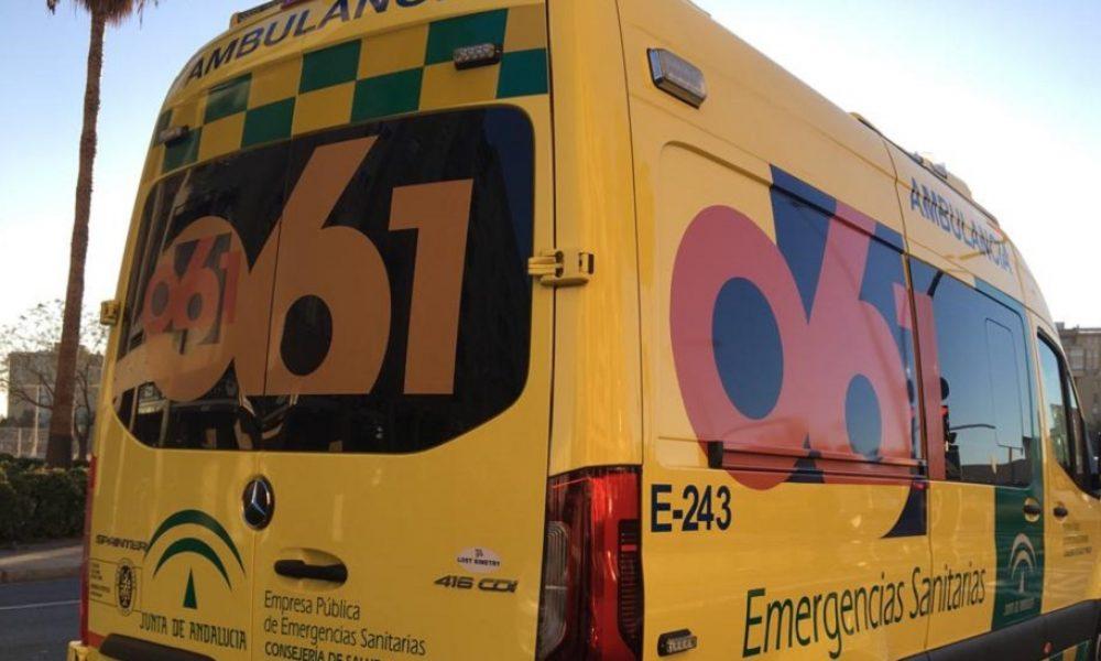 Imagen de archivo de una ambulancia de EPES