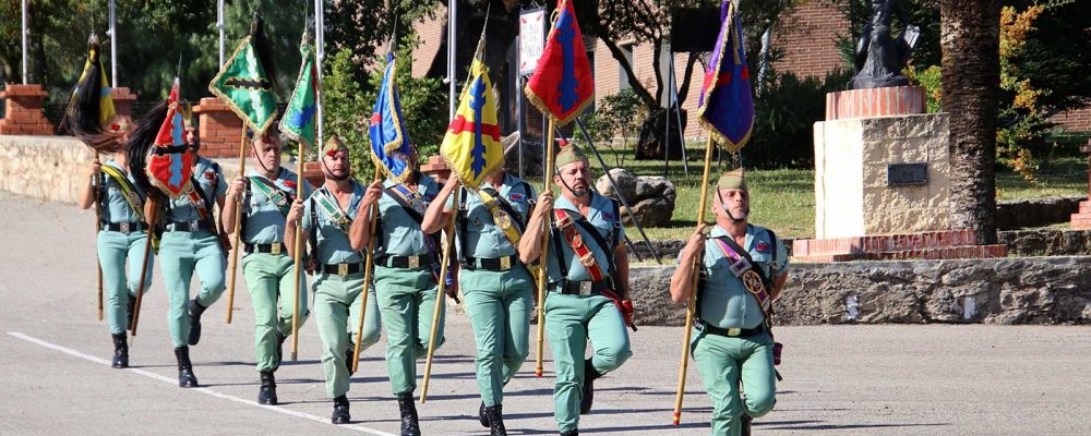 Swearing of the Flag, Spanish Legionnaires, Ronda