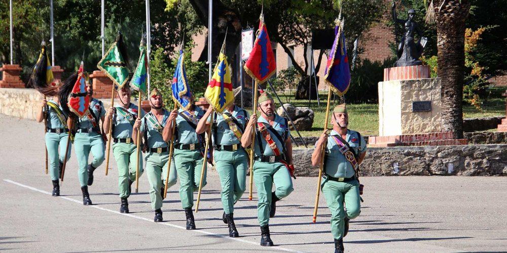 RONDA: Swearing of the Flag, Spanish Legion