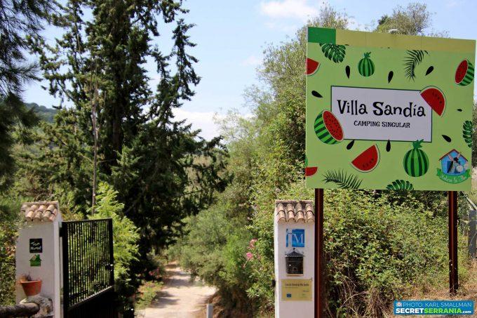 Villa Sandia, Jimera de Líbar