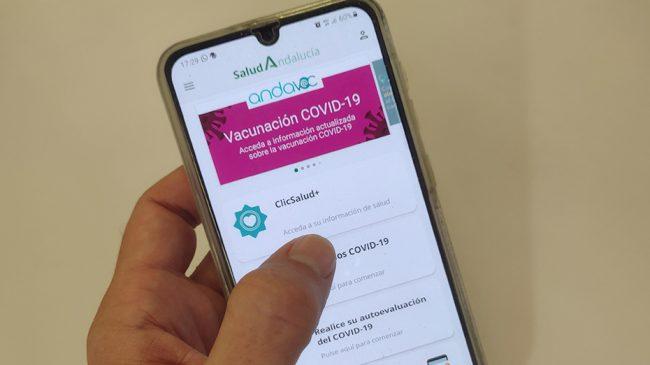 La app Salud Andalucía cuenta con más de 320.000 usuarios en su primer año funcionando