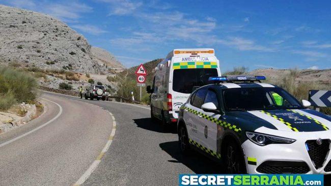 Muere un motorista accidentado en Alpandeire
