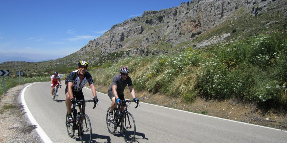 Cycling holidays for single or solo travellers in Andalucía