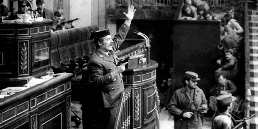 Fortieth anniversary of Spain's failed coup
