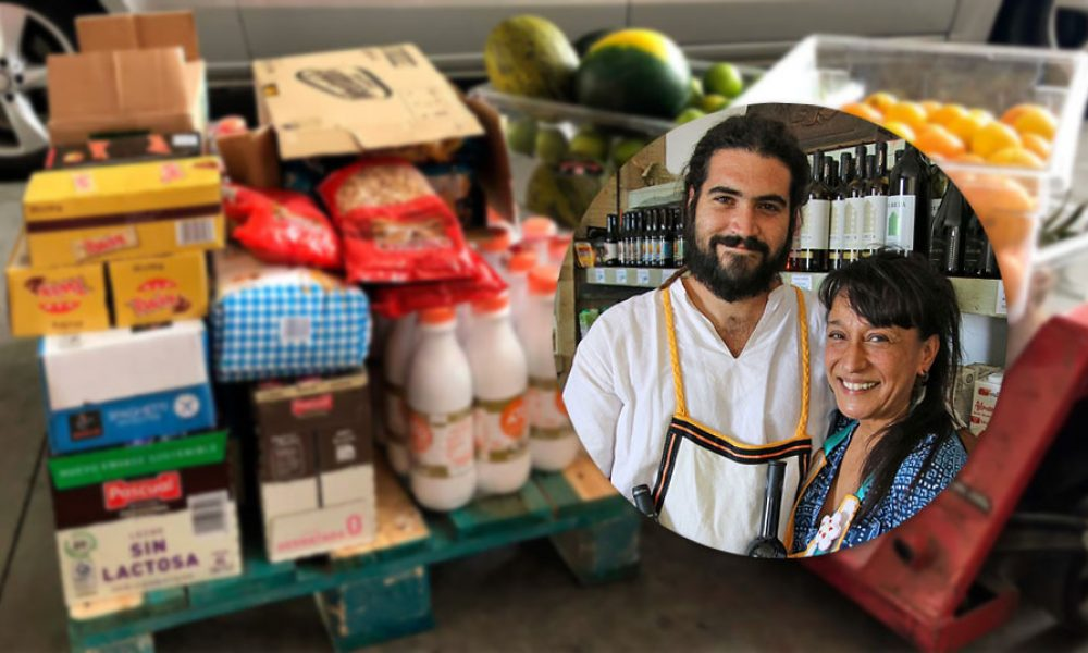Can you help support the Solidarity Fridge and Food Bank in Gaucín?