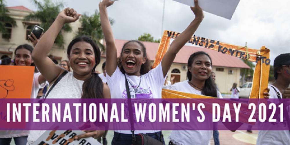 International Women's Day – 8 March