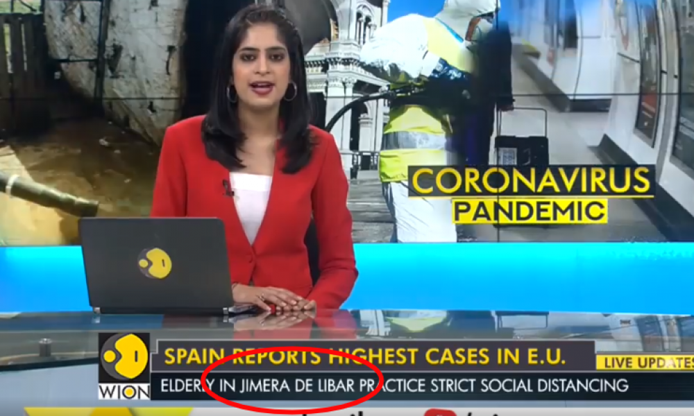 VIDEO: Small COVID-19 coronavirus-free pueblo blanco in Spain's Andalucia goes global on international TV news