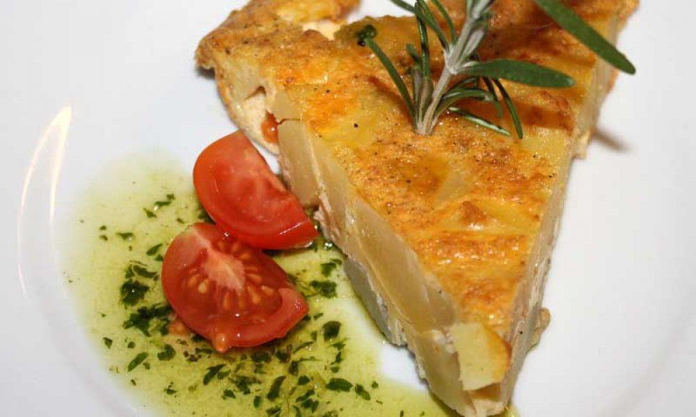 Tortilla Española… how to make a Spanish omelette