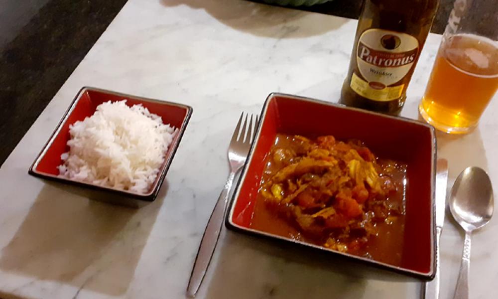 Curry Madrás de Pavo – a la Secret Serranía