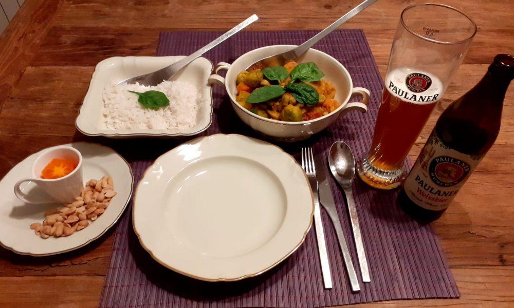 Vegetable Curry – Secret Serranía style