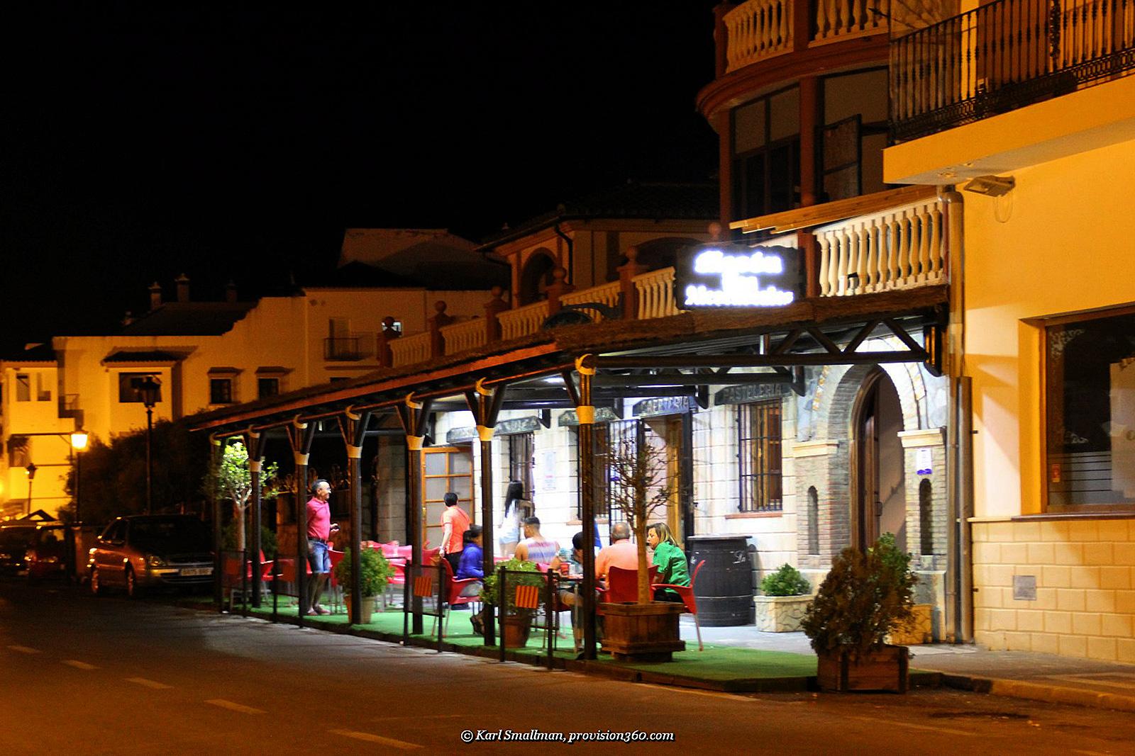 Mesón Los Alcornocales and Cafeteria Maria